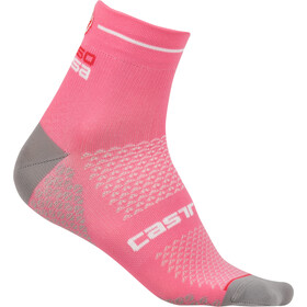 Castelli Rosa Corsa 2 Socks Dame giro pink